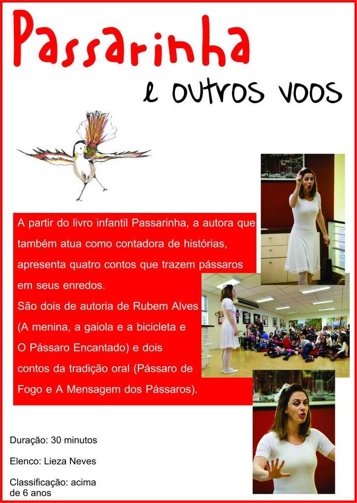 flyer Passarinha